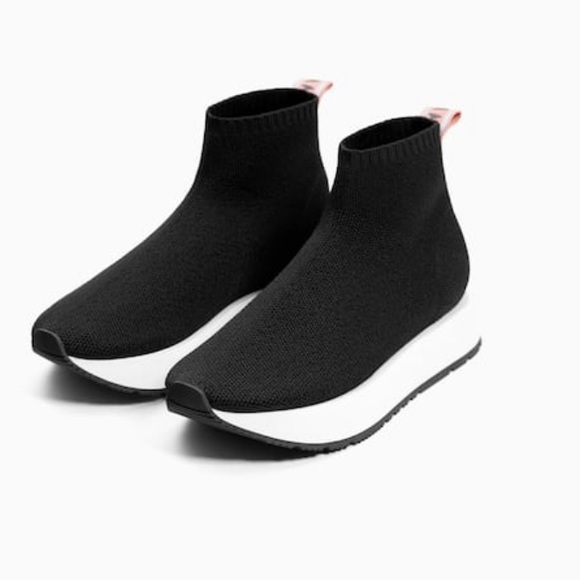 Zara Shoes | Zara Girls Sockstyle High